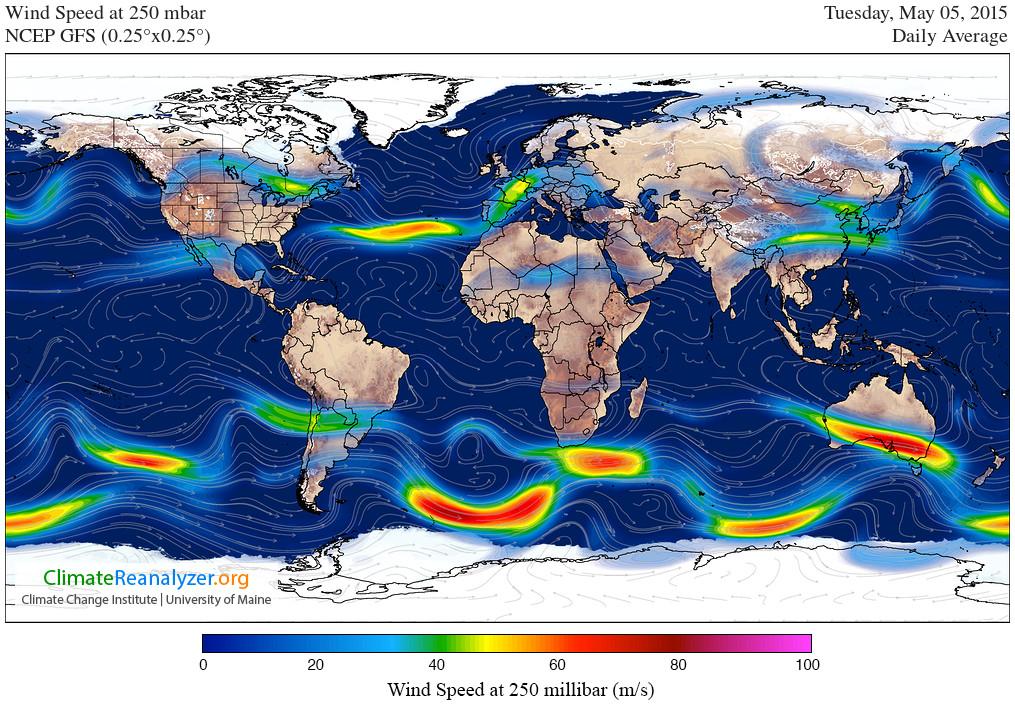 Northern Hemisphere Jet Stream Continues to Weaken, Disorganize ...